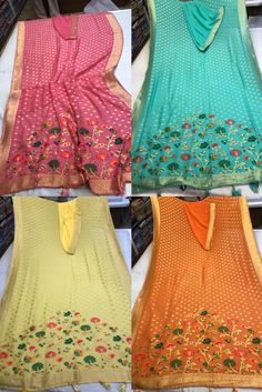 Buy Pure Khaddi Georget Sarees With Blouse 8897195985   siri designers   #siridesigners #georgettesarees Georgette Fabric, Georgette Sarees, Siri, Designers, Pure Products, Summer Dresses, Blouse, Stuff To Buy, Color