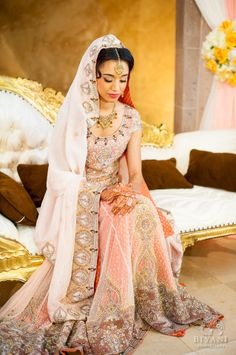 Indian Muslim Bride   Photo by Biyani