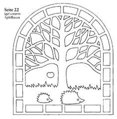 paper cuttings, tree