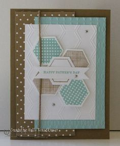 Six-Sided Sampler Father's Day Card