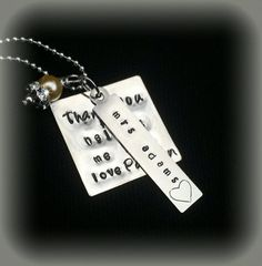 Hey, I found this really awesome Etsy listing at https://www.etsy.com/listing/202012873/teacher-necklace-personalized-keychain