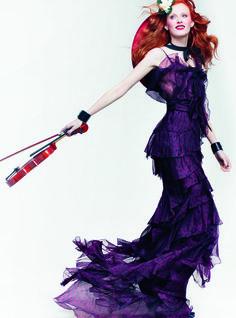 cool Um olhar nas criações de Peter Copping para Nina Ricci na Vogue  [Designers]