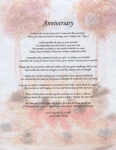 anniversary poem | ... Original Inspirational Christian Poetry - Poems ...
