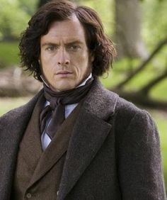 Toby Stephens as Mr. Rochester in Jane Eyre. Dame Maggie Smith's son, by the way. Stunned and happy when I found out. Made perfect sense why he is so awesome. The apple doesn't fall far from the tree.