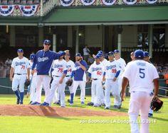 3/19/14 Los Angeles Dodgers Workout at Sydney Crickett Ground by Jon SooHoo
