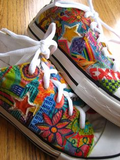 hand-painted shoes by dilleys~etsy