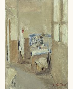 'The Blue Sink', c. 1908 - Edouard Vuillard...