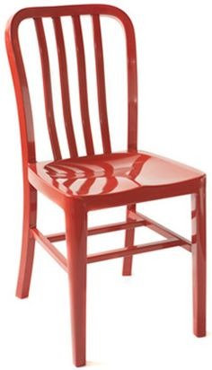 Aluminum Navy Style Chair, Custom Powder Coat In A Rainbow Of Colors! By  The Dozen.