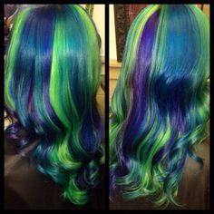 Mermaid color retouch