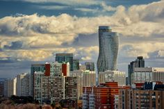 Heavenly skies over the city of Mississauga