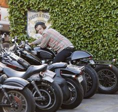 WHEN DID HARRY GET A MOTORCYCLE?!?!? I AM NOT OKAY WITH THIS!