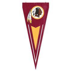 Washington Redskins NFL Applique & Embroidered Yard Pennant (34x14)