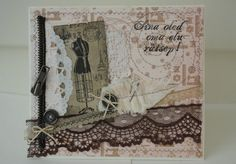 Collage image was created with a digi stamp...