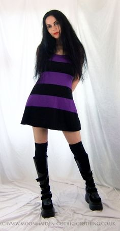 Perfidia Mini Dresss by Moonmaiden Gothic Clothing UK