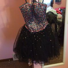 A Puffy Homecoming Dress