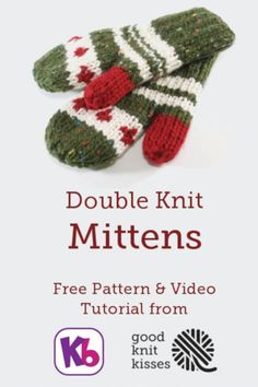 Double Knit Mittens : Double Knit Mittens on the KB Rotating Double Knit Loom (DKL) www. Loom Knitting Projects, Loom Knitting Patterns, Knitting Kits, Circular Knitting Needles, Easy Knitting, Knitting Ideas, Knitting Tutorials, Knitting Machine, Knitting Looms