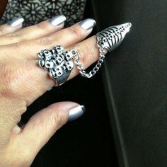 Marilyn Manson Claw Ring