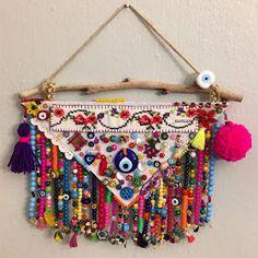 Esen Can: GÜNLERİN GETİRDİĞİ.. Embroidery Flowers Pattern, Flower Patterns, Decor Crafts, Diy And Crafts, Blue Dream Catcher, Crochet Wall Hangings, Paper Napkins For Decoupage, Diy Resin Art, Art Textile
