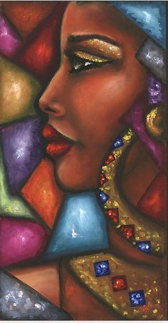 Ideas For Black Art Painting Woman Africa Black Art Painting, Black Artwork, Colorful Artwork, Art Afro, Afrique Art, African Art Paintings, Modern Art Paintings, Art Africain, African American Art