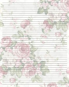 Printable Writing Paper (20) by Aimee-Valentine-Art