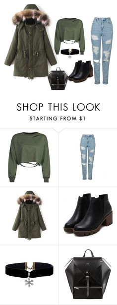 """style for style"" by morena-10000000000 ❤ liked on Polyvore featuring WithChic and Topshop"