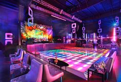 'The Price Is Right' Wrap Party: The game show's wrap party had a theme in and guests danced on a colorful, light-up dance floor. The Los Angeles bash was produced and designed by Poko Event Productions.