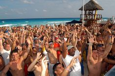 Are you planning for Cancun beach party this spring??  #oscarcancunshuttle #cheapestshuttler #travel #transportation