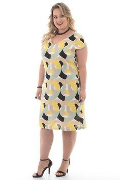 Vestidos Plus size Modest Dresses Casual, Big Dresses, Simple Dresses, Plus Size Dresses, Plus Size Outfits, Halter Dresses, Plus Size Chic, Plus Size Model, Big Size Dress