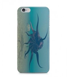 Octopus in the Sea Alien Theme 3D Iphone Case for Iphone 3G/4/4g/4s/5/5s/6/6s/6s Plus - ALN0154 - FavCases