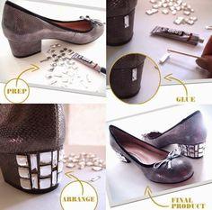 Bellart Atelier: Customização de Roupas e Sapatos.