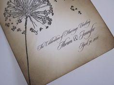 Wish Dandelion Vintage Notecards  Dandelions  Set by anistadesigns, $15.50
