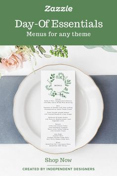 Wedding Dinner Menu, Wedding Menu Cards, Wedding Table Place Settings, Perfect Wedding, Dream Wedding, Philly Cheese, Pie Dish, Party Planning, Dreaming Of You