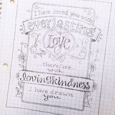 Free Valentine Coloring Page... and Catching Up for the Week!  Jeremiah 31:3