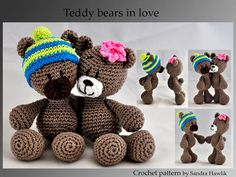 Hey, I found this really awesome Etsy listing at https://www.etsy.com/listing/195030057/crochet-pattern-amigurumi-teddy-teddy