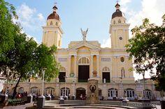 Santiago de Cuba: town second to Havana.  16th Century Spanish cathedral.