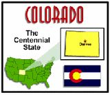 Colorado State Unit Study - Geography, State Symbols & Facts
