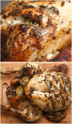 Thai Green Roast Chicken