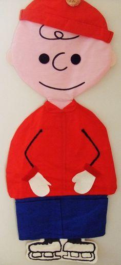 Charlie Brown Pajama bag