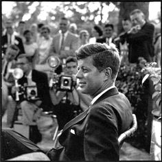 JFK - we couldn't get enough of his vision and humor during press sessions.