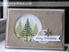handmade christmas shaker cards - Google Search