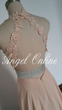 Awesome Evening dresses Champagne Evening Dress.Lace Evening Dress.Halter Evening Dress.Side Split Evening Dress.Prom Dress 2015.Prom Dress Long.Backless Prom Dress Check more at https://24myshop.tk/my-desires/evening-dresses-champagne-evening-dress-lace-evening-dress-halter-evening-dress-side-split-evening-dress-prom-dress-2015-prom-dress-long-backless-prom-dress/