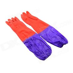 Keeps your hands from hurt; The top part is single-layer, the middle and bottom part is dual-layer; Waterproof and anti-oil stain http://j.mp/1ljNcTb