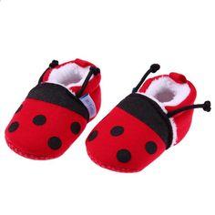 Alamana Fashion Infant Baby Girl Boy Linen Warm Anti-Slip Prewalker Toddler Shoes Khaki 12cm