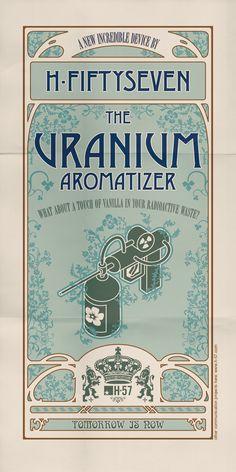 H-57 Creative Station: Uranium aromatizer. http://www.h-57.com/