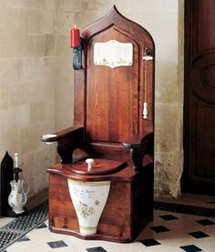 Herbeau Dagobert as seen in Men's Health 15 Manliest Toilets   http://www.menshealth.com/best-life/coolest-toilets#