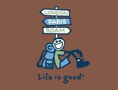 travel in a life is good shirt.