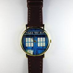 Beautiful TARDIS watch!