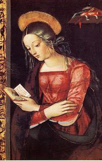 Virgine annunziato, 1495. Pintoricchio (Bernardino di Betto) (Italian, 1454-1513).