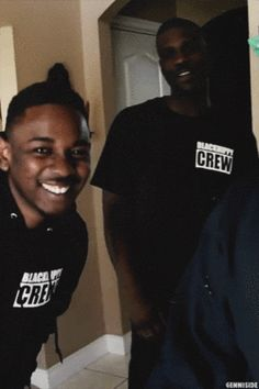 K.dot and jay rock TDE house tourthis video was funny asf..omg his smile thoo♥