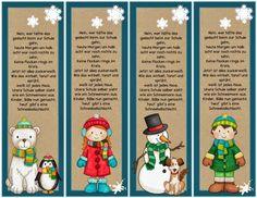Winterliche Lesezeichen/Anhänger    Da mich einige Anfragen zu winterlichen Lesezeichen  erreichten, habe ich noch einen Schwung erstellt. ...